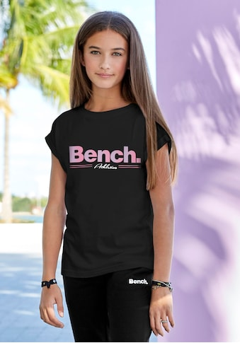 Bench. T-Shirt, legeres Logoshirt kaufen