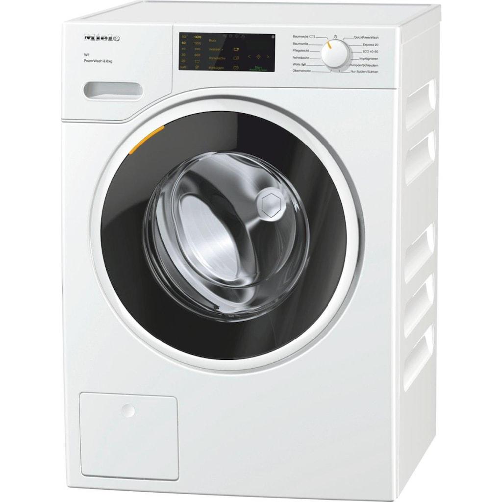 Miele Waschmaschine, WWD320 WCS PWash&8kg, 8 kg, 1400 U/min
