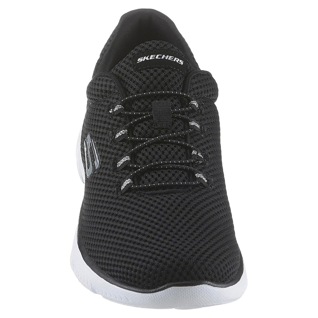 Skechers Slip-On Sneaker »Summits«, mit gepolstertem Schaftrand