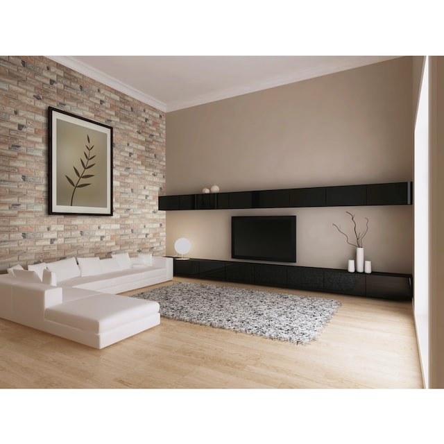 ELASTOLITH Verblender »Corsica«, dunkelbraun, für Außen- und Innenbereich, 5 m²