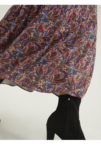 LINEA TESINI by Heine Maxirock, mit Paisley-Dessin kaufen