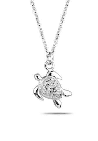 Elli Kette mit Anhänger »Süßer Anhänger Schildkröte 925 Silber« kaufen