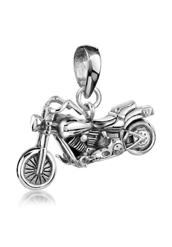 Kuzzoi Kettenanhänger »Herren Motorrad Bike 925er Silber« kaufen