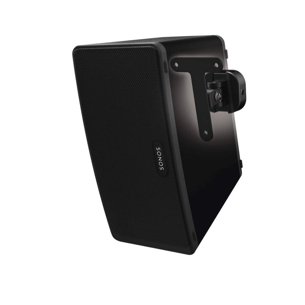 Hama Wandhalterung für Sonos PLAY:3 Lautsprecher, schwarz