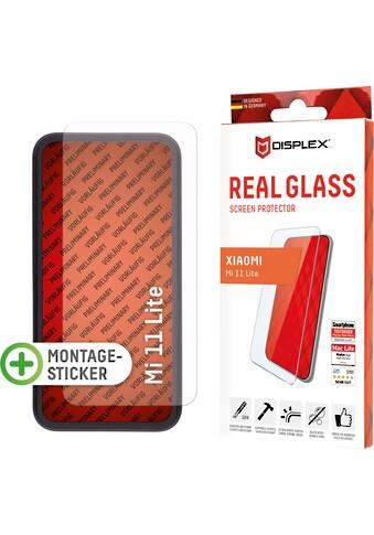"""Displex Displayschutzglas »Real Glass für Xiaomi Mi 11 Lite (5G) (6,5""""), 2D«, für Real... kaufen"""