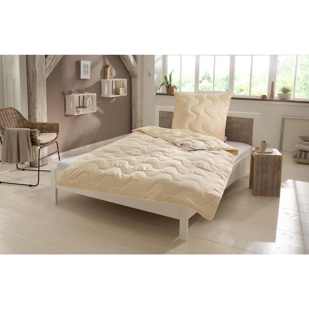 my home Naturfaserbettdecke »Baumwolle 60 °C«, leicht, (1 St.), natürlich gut schlafen in reiner Baumwollqualität