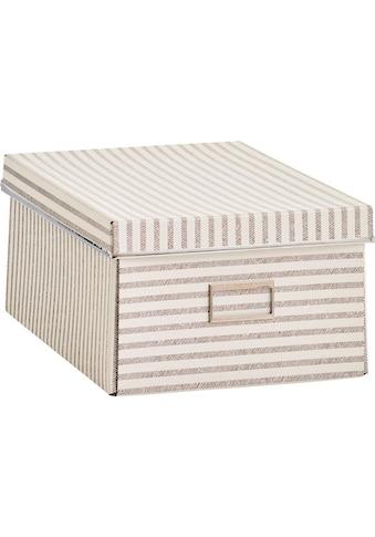 Zeller Present Aufbewahrungsbox »Stripes« kaufen
