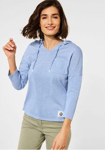 Cecil T-Shirt, mit Kapuze und Brusttasche kaufen
