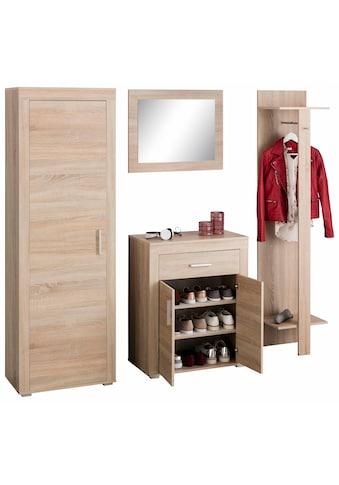 Wilmes Garderoben-Set »Lake«, (Set, 4 St.), mit Rahmenoptik kaufen