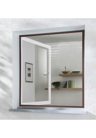 hecht international Insektenschutz-Fenster »MASTER SLIM«, braun/anthrazit, BxH: 150x160 cm kaufen