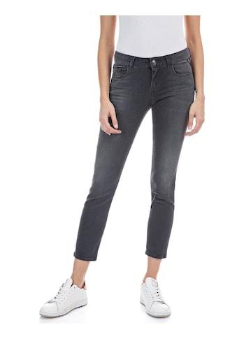 Replay 7/8-Jeans »Faaby«, in dezenter Used-Optik kaufen