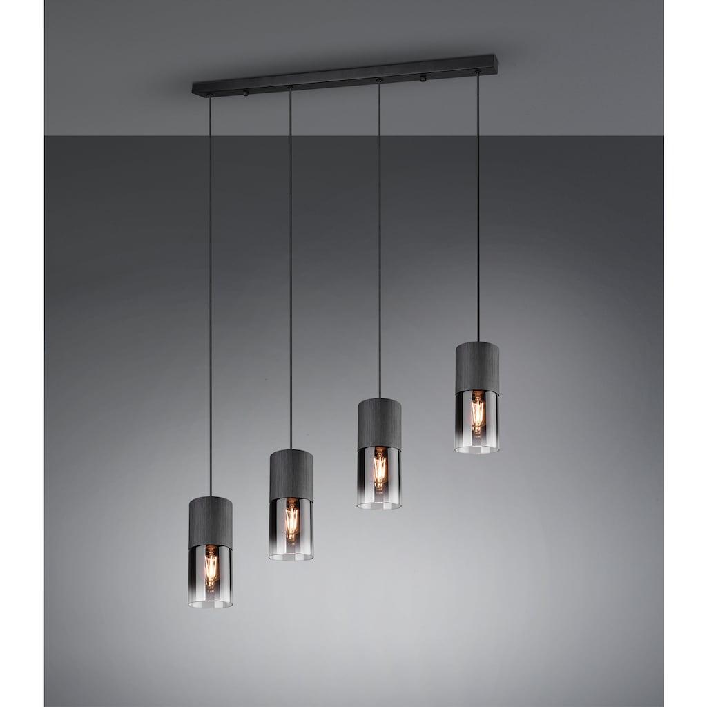 TRIO Leuchten Pendelleuchte »ROBIN«, E27, 1 St., Hängeleuchte, Hängelampe rauchfarbige Gläser