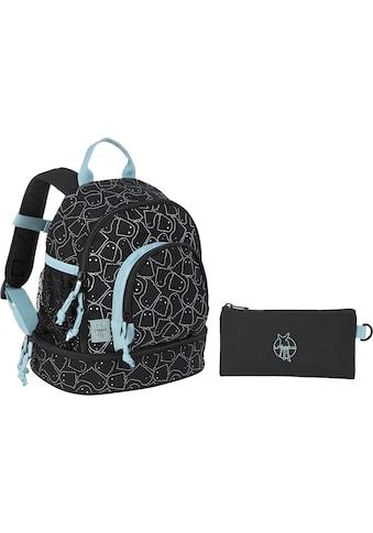 LÄSSIG Kinderrucksack »4Kids Spooky Black, Mini Backpack«, Reflektoren, PETA-approved... kaufen