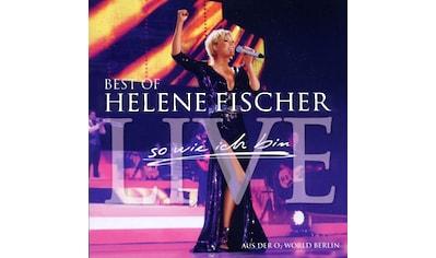 Musik - CD Best Of Live - So Wie Ich / Fischer,Helene, (2 CD) kaufen