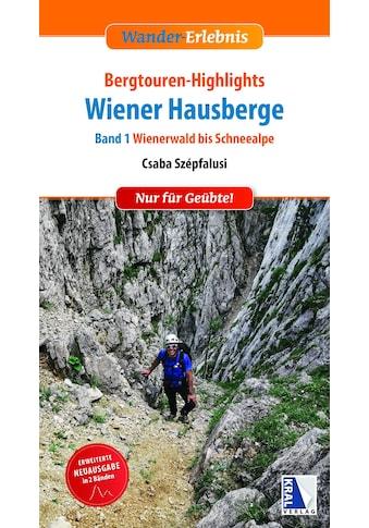 Buch »Bergtouren-Highlights Wiener Hausberge (Band 1) / DIVERSE« kaufen