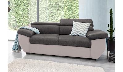 COTTA Polstergarnitur, (Set), Set: bestehend aus 2-Sitzer Sofa und Hocker, frei im... kaufen