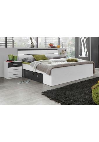 Schlafkontor Bett, inkl. 2 Nachttische und 2 Schubkästen kaufen