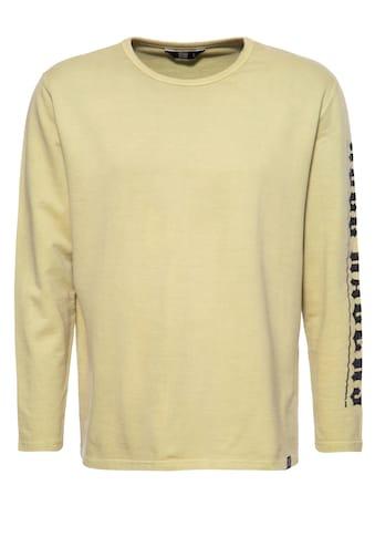 KingKerosin Sweater »Hell Racers«, mit legerem Enzymwash-Effekt kaufen