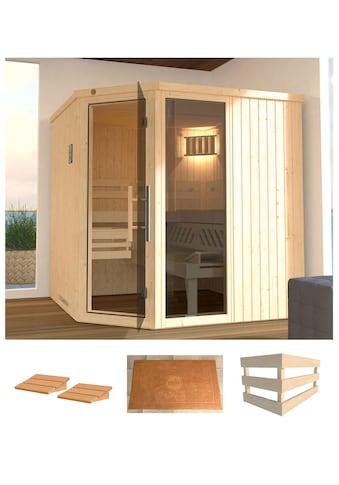 WEKA Sauna »Varberg 3«, 194x194x199 cm, ohne Ofen, mit Fenster kaufen