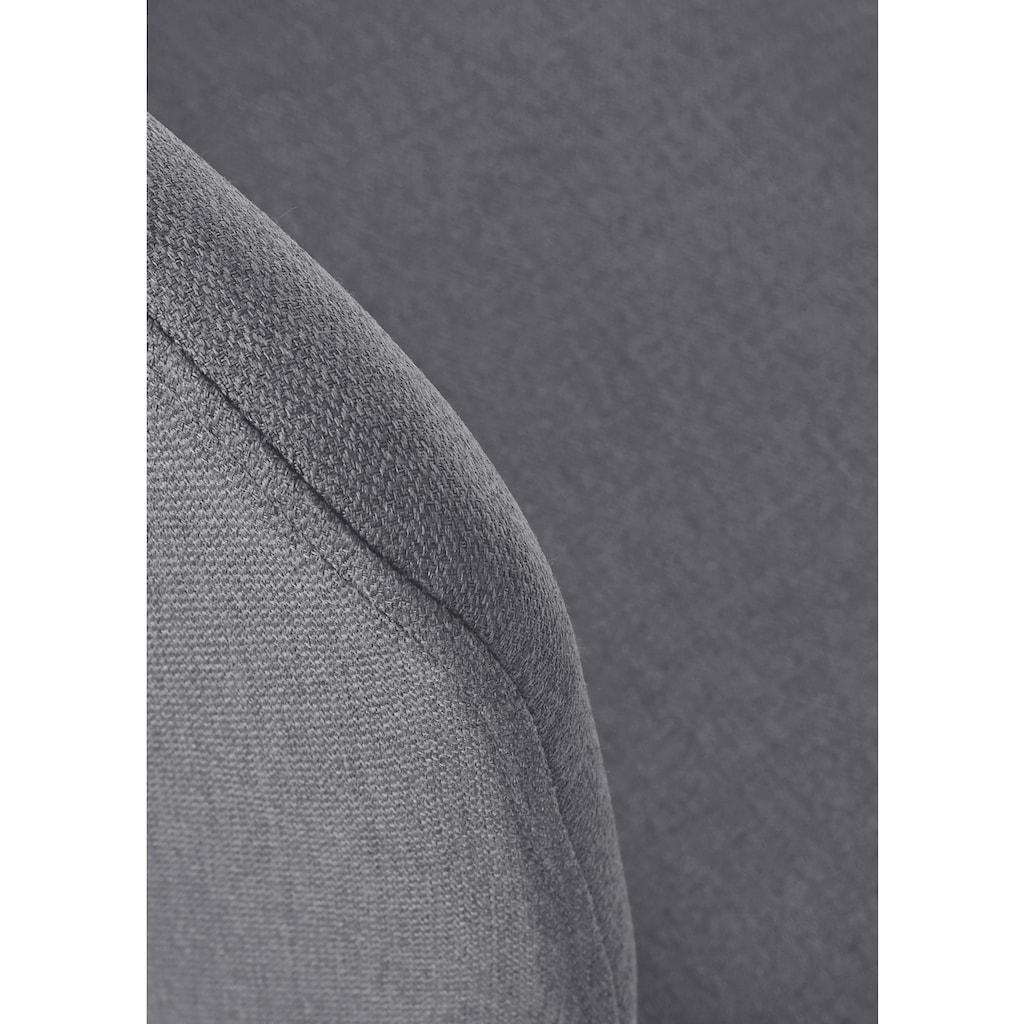PBJ Polsterstuhl »Basic Cut«, Beine white oak, im nordischem Design