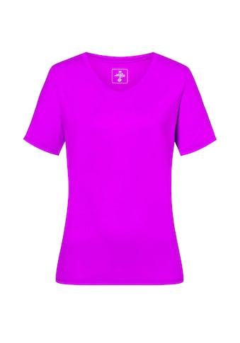 DEPROC Active Funktionsshirt »MORAY WOMEN«, Funktionsshirt mit V-Ausschnitt kaufen