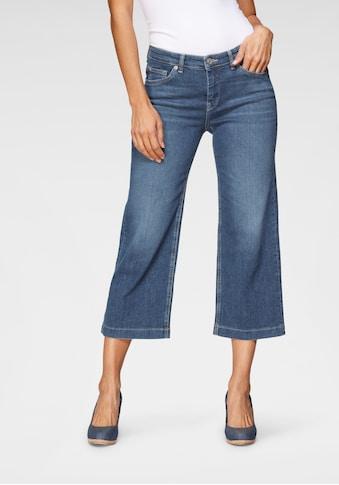 MAC Weite Jeans »Rich-Culotte«, Schmaler Bund und weites Bein kaufen