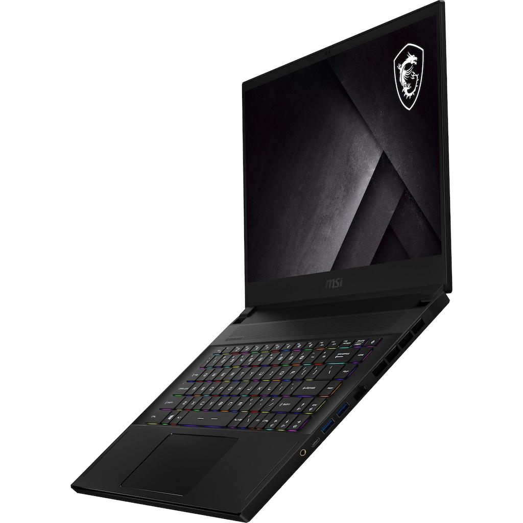"MSI Gaming-Notebook »GS66 Stealth 10UH-274«, (39,6 cm/15,6 "" Intel Core i9 GeForce RTX™ 3050 Ti\r\n 2000 GB SSD), Kostenloses Upgrade auf Windows 11, sobald verfügbar"