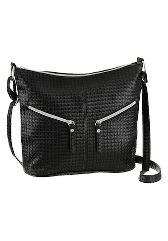 J.Jayz Umhängetasche, mit schicken Zierriemchen und herrausnehmbarer Zusatztasche kaufen