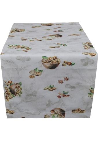 Tischläufer, »Nüsse«, HOSSNER  -  HOMECOLLECTION (1 - tlg.) kaufen
