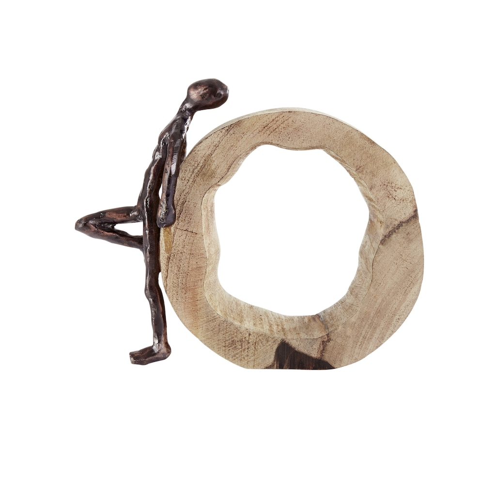 Deko-Objekt aus massivem Holz