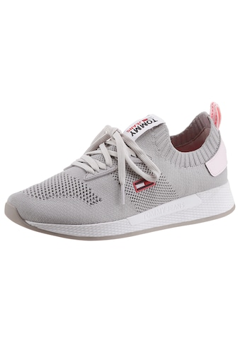 Tommy Jeans Slip-On Sneaker »TECHNICAL FLEXI KNITTED RUNNER«, mit aufgesetzter... kaufen