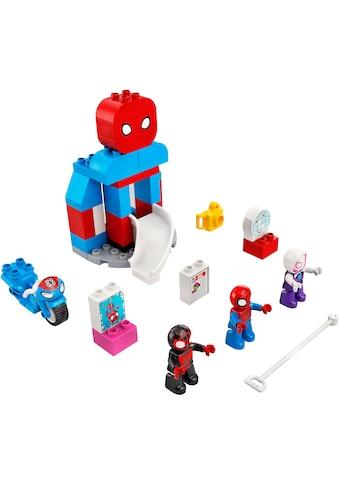 LEGO® Konstruktionsspielsteine »Spider-Mans Hauptquartier (10940), LEGO® DUPLO® Super... kaufen