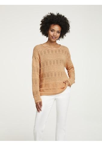 Pullover in Ajour - Strick kaufen