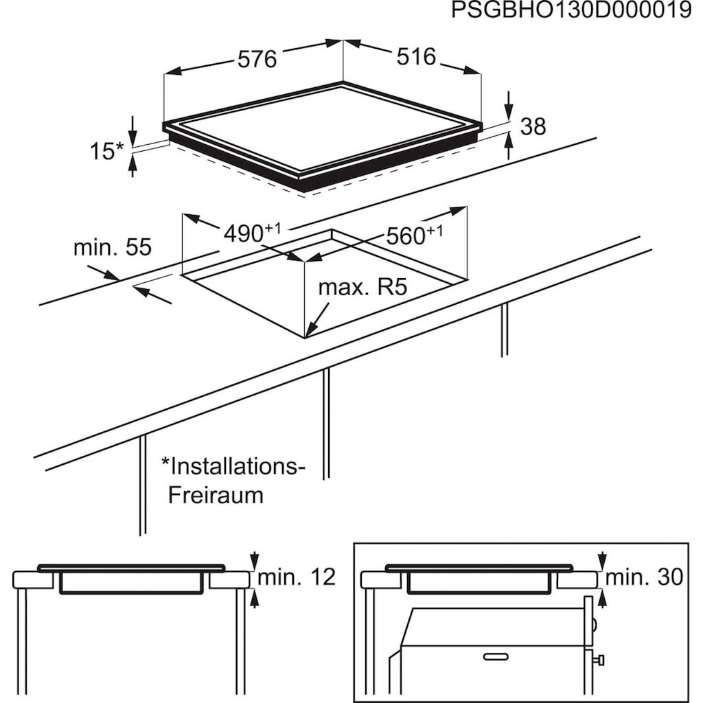 AEG Elektro-Herd-Set »TEAM101P«, EPS33102ZM, Pyrolyse-Selbstreinigung