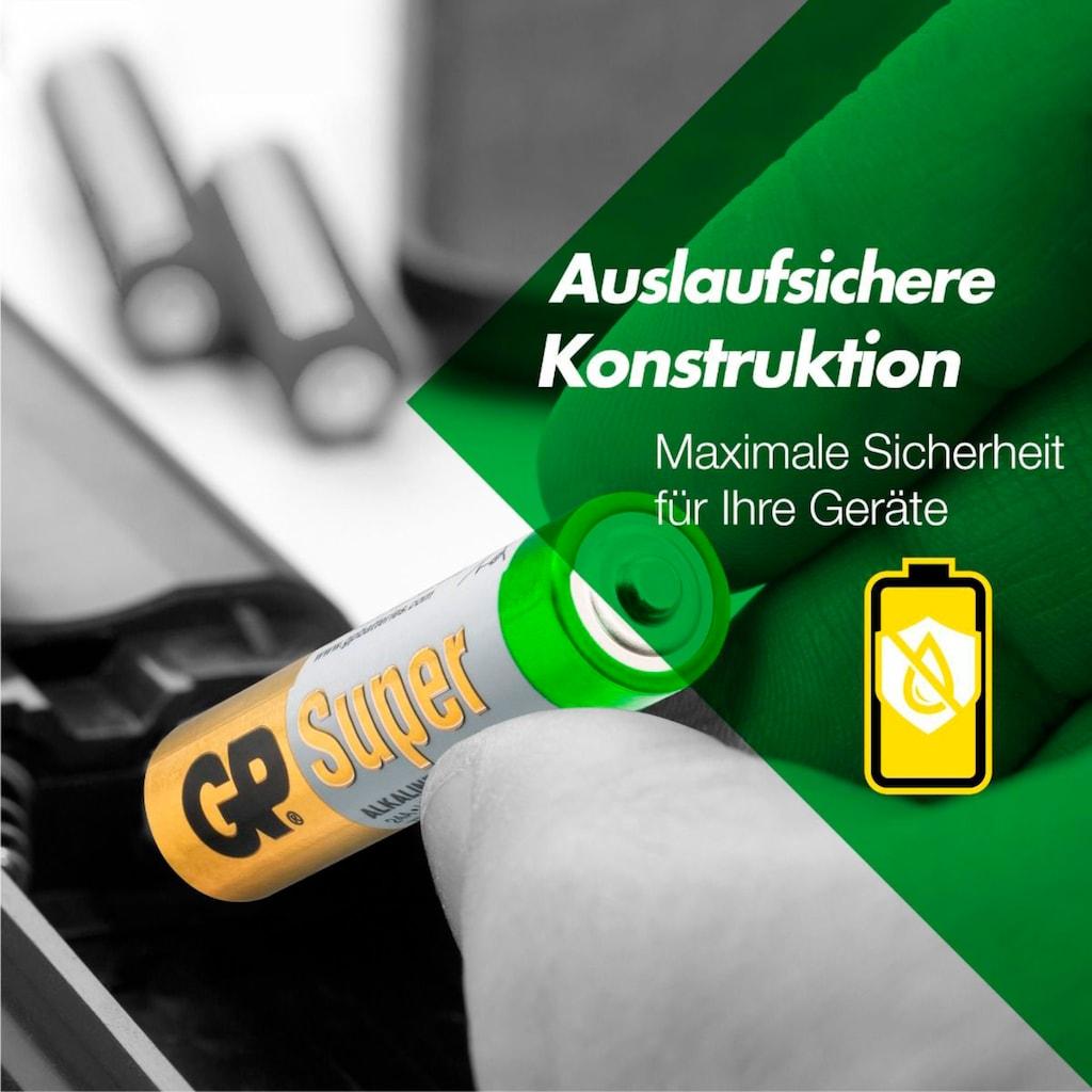 GP Batteries Batterie »Super Alkaline AAA«, LR03, 1,5 V, (Set, 40 St.)