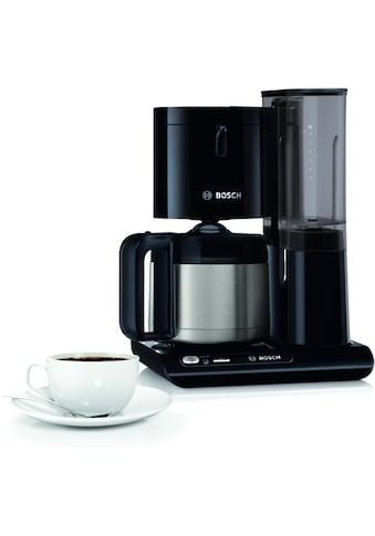 BOSCH Filterkaffeemaschine »TKA8A053 Styline«, Papierfilter, 1x4, mit Thermokanne kaufen