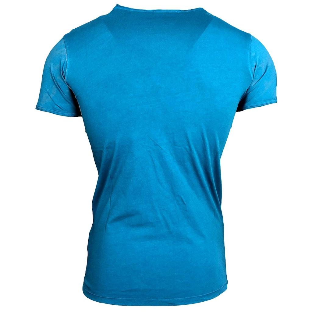 Rusty Neal T-Shirt mit extravagantem Front-Druck