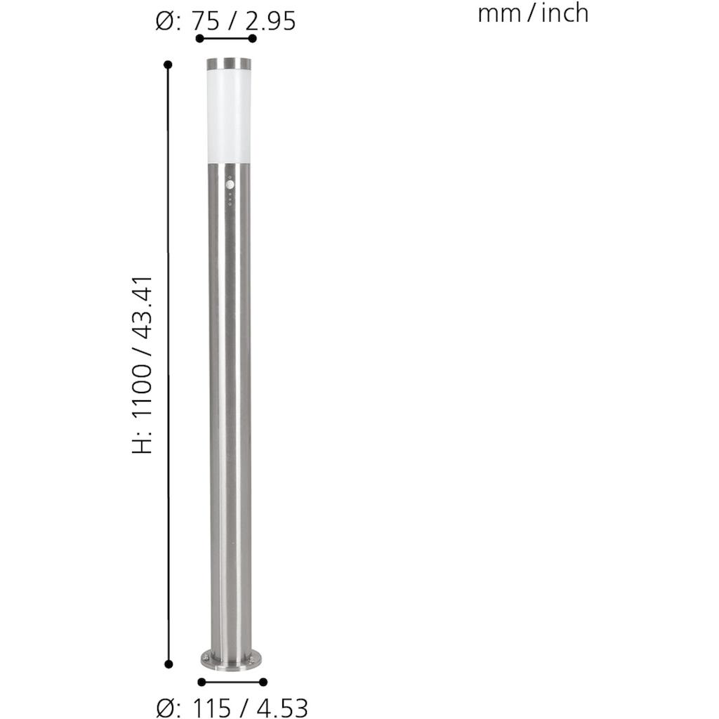 EGLO Außen-Stehlampe »HELSINKI«, E27, Mit Bewegungsmelder