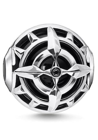 THOMAS SABO Bead »Kompass schwarz, K0335-641-11«, mit Onyx und Zirkonia kaufen