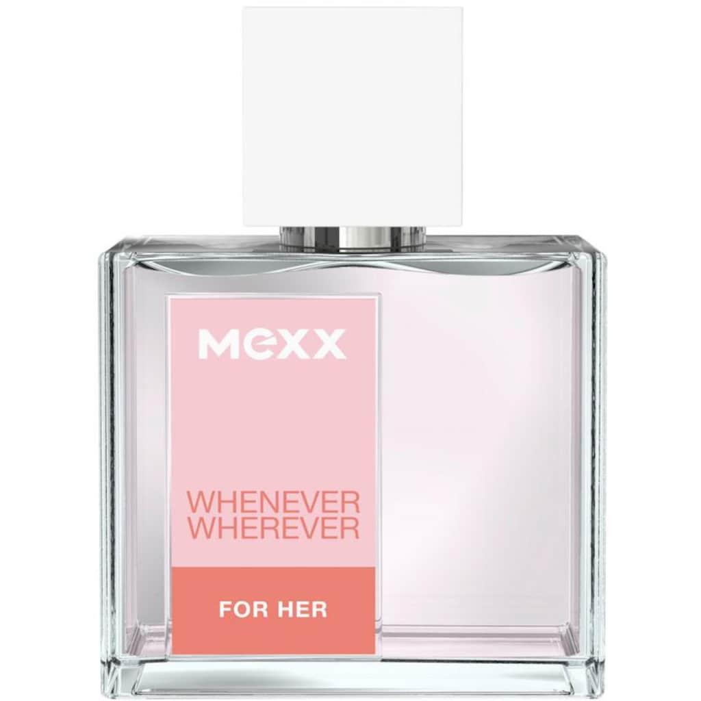 Mexx Eau de Toilette »WHENEVER WHEREVER for Her«