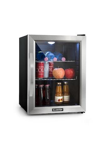 Klarstein Beersafe M Kühlschrank A++ LED 2 Metallroste Glastür »Beersafe« kaufen