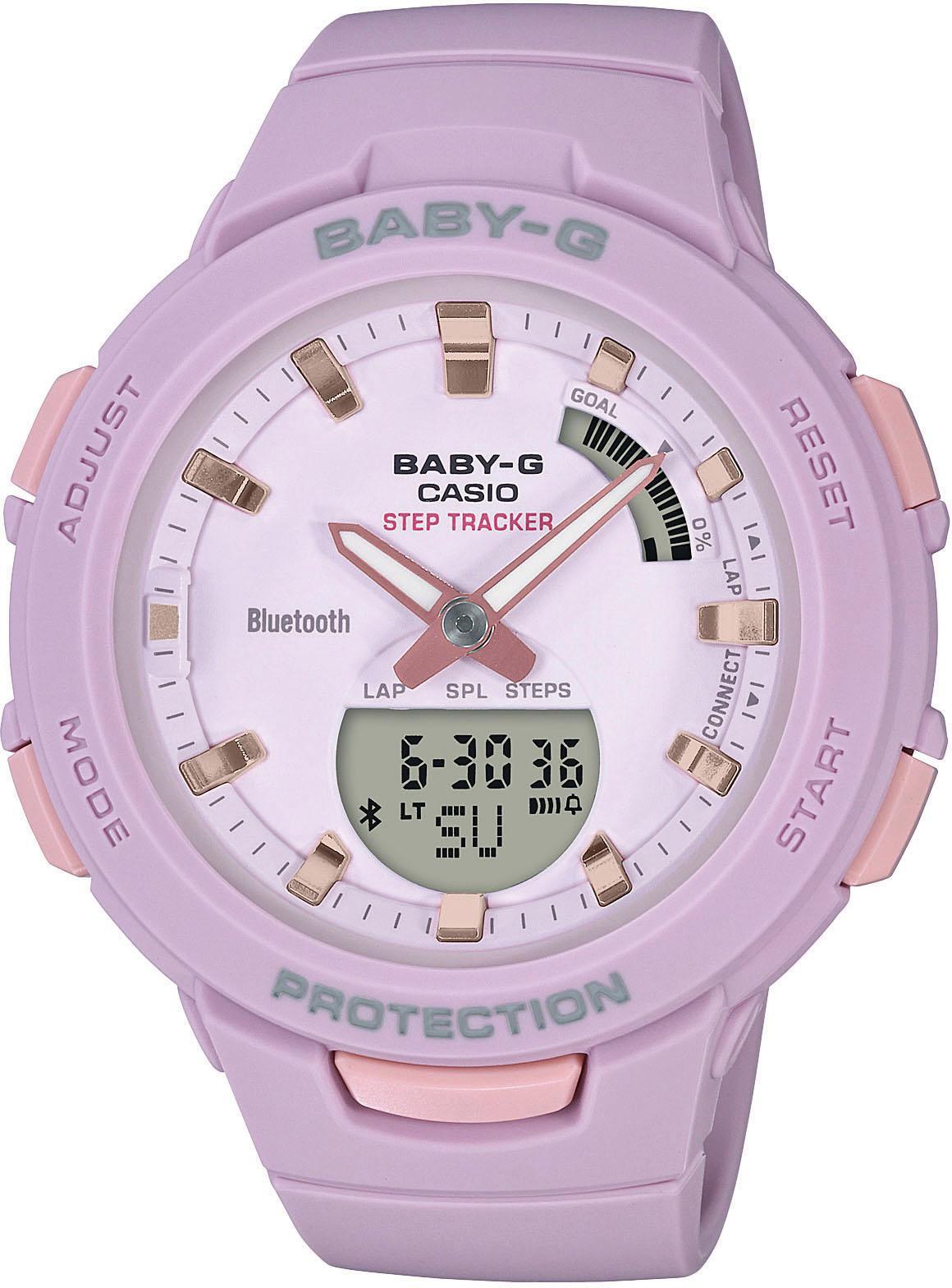CASIO BABY-G BSA-B100-4A2ER Smartwatch | Uhren > Smartwatches | CASIO BABY-G