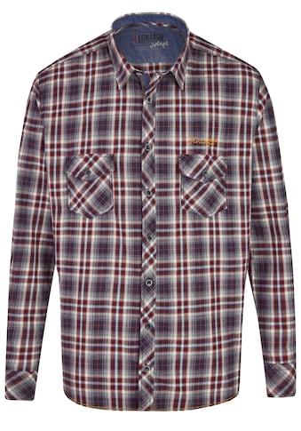 Leonardo Hemden Trendiges Karohemd Langarm kaufen