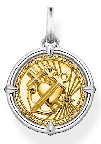 THOMAS SABO Kettenanhänger »Glaube, Liebe, Hoffnung, PE870-849-7«, mit Zirkonia kaufen