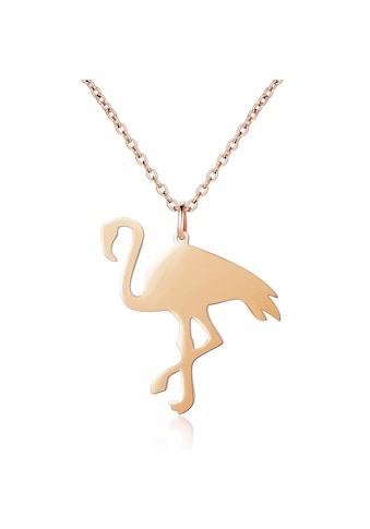 AILORIA Kette mit Anhänger »FLAMANT Halskette aus Edelstahl mit Flamingo-Anhänger«,... kaufen