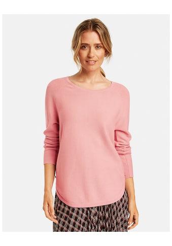 GERRY WEBER Rundhalspullover »Pullover mit dekorativen Knöpfen« kaufen