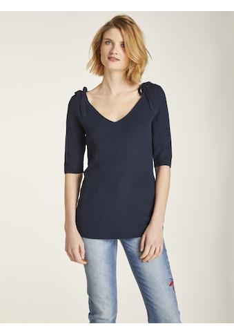 Pullover mit Schleifendetails kaufen