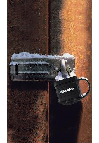 MASTER LOCK Vorhängeschloss 40 mm aus Stahl mit Thermoplast, 2er Pack gleichschließend kaufen