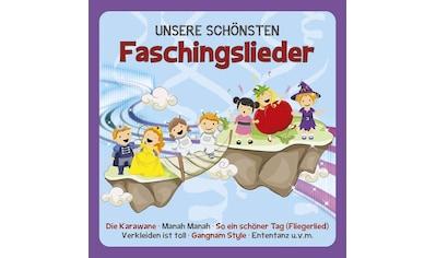 Musik - CD FASCHINGSLIEDER / Familie Sonntag, (1 CD) kaufen