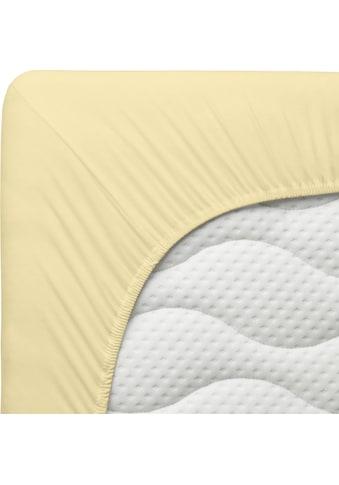 Schlafgut Spannbettlaken »Kinder Mako-Jersey«, aus 100 % Bio-Baumwolle kaufen
